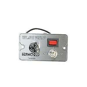 Bilge Pump Water Alarm Panel with Control Switch SEAWORLD