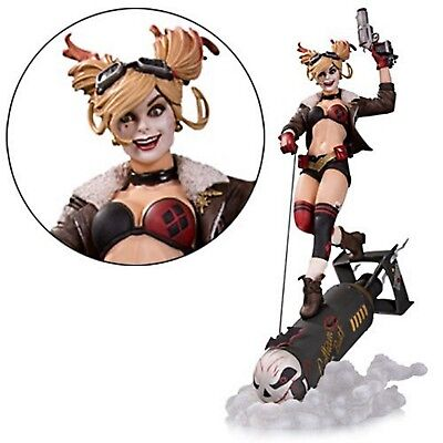 Statue Fully painted new in the box DC Bombshells Harley Quinn Deluxe Statue
