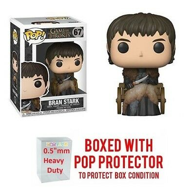 Pop Movies : Game of Thrones : BRAN STARK #67 Vinyl w/Protector Case