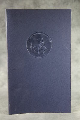 vintage 1974 COMANCHE PEOPLE Tribal History Series Signed Limited Edition Book