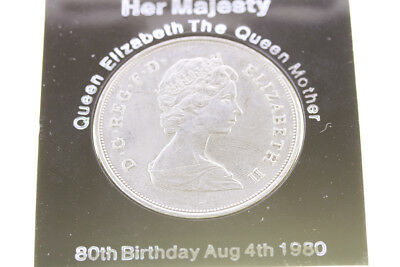 Collectable Coin - Queen Elizabeth The Queen Mother Crown 1980 (N013)