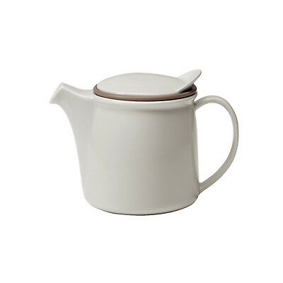 NEW Kinto Brim Porcelain Teapot 750ml : Grey
