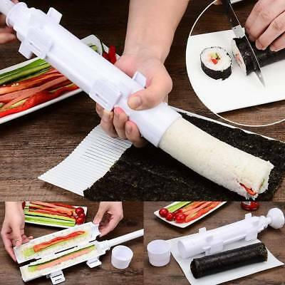 Sushi Maker Tool Bazooka Rice Meat Vegetable Making Kitchen Gadgets Roller Mold