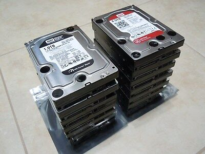 (Lot Of 14) Western Digital WD 3.5 inch SATA HDD Hard Drives – New/Used/Tested