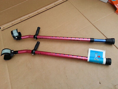 Guardian Forearm Crutches G05144X Youth Size New With Tags