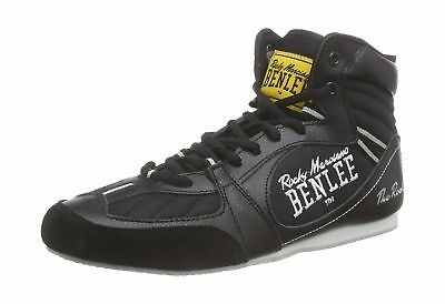 BENLEE Rocky Marciano The Rock Mens Boxing Boots Black 42