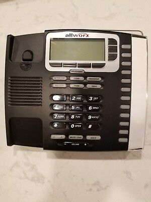 Allworx 6x 10X 24X 9212 P NO Back Lit 12 Button Display IP VOIP POE Telephone #P