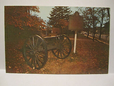 Only Double Barreled Cannon In The World Postcard Athens Ga Georgia 1950S