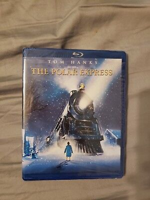 New, Sealed in Box: The Polar Express (Blu-ray)