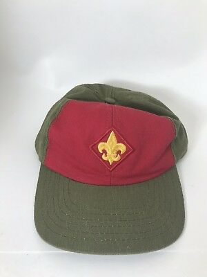 Boy Scouts Baseball Hat Snapback Green Red