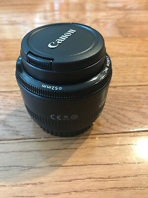 Canon EF 50mm F/1.8 II Prime Lens Excellent Condition