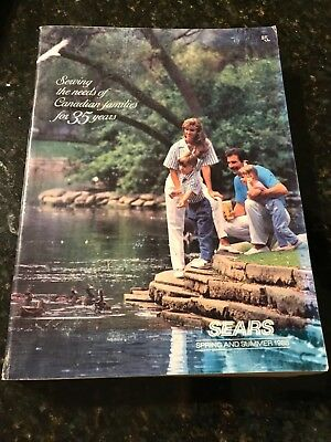 Vintage 1988 Sears Spring and Summer Catalouge Very Good Condition