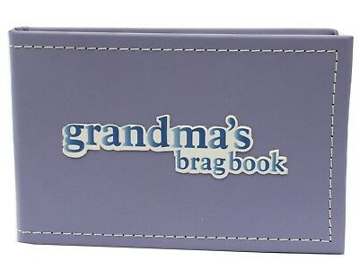 Grandma's Brag Book Grandchildren Photo Album Christmas present Birthday gift