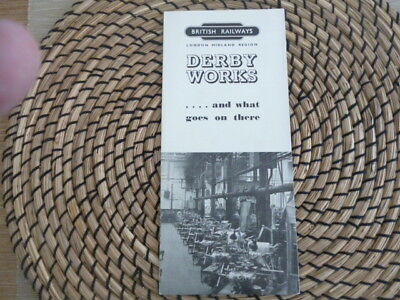 Vintage Railway memorabila British Railways Derby  Works London Midland Region