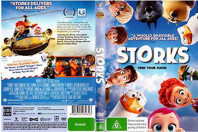 DVD - STORKS - animated comedy