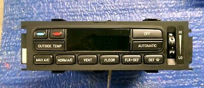 2003-2011 FORD MERCURY CROWN VIC GRAND MARQUIS MARAUDER CLIMATE CONTROL EATC AC