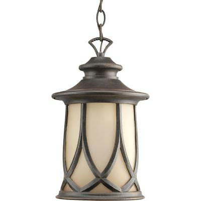 Progress Lighting Resort Collection 1-Light Aged Copper Outdoor Hanging Lantern