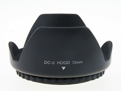 72mm Lens Hood Screw Mount Petal Crown Flower Shape for Canon Nikon Sony Pentax