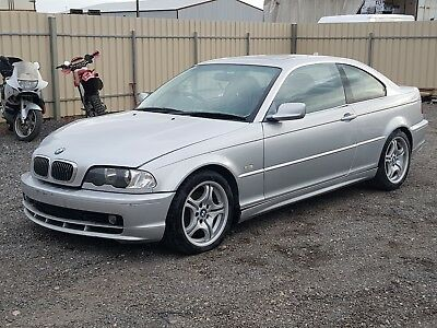2002 BMW 320ci E46 MY02 COUPE AUTO 2.2L DAMAGED CLEAR TITLE NO WOVR REPAIR