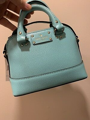 NWT Kate Spade Wellesley Mini Rachelle Leather Satchel/Crossbody