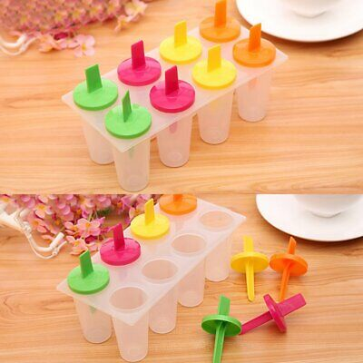 Silicone Ice Cream Mould Block Frozen Molds Icy Pole Jelly Pop Popsicle Maker LU