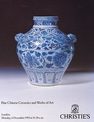 CHINESE CERAMICS & WORKS of ART: Christie's London 93 +results