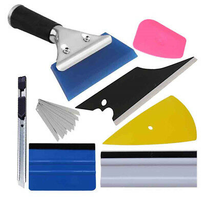 8in1 Squeegee Car Window Tinting Auto Film Install Wrapping Applicator Tools