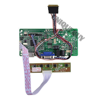 HDMI VGA driver board For 40 pin single 6/8 dual 6-bit LVDS notebook LCD screen