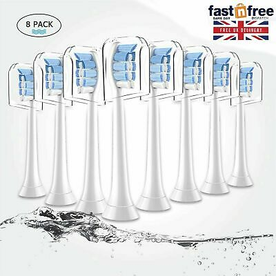 8-Pack Philips Sonicare Toothbrush Heads Replacement Brush Heads Diamond Clean