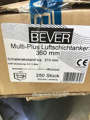 Bever Multi-Plus Luftschichtanker 360mm