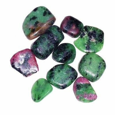 44ct/8.6g 10x Red Ruby in Zoisite Chips Loose Gemstones