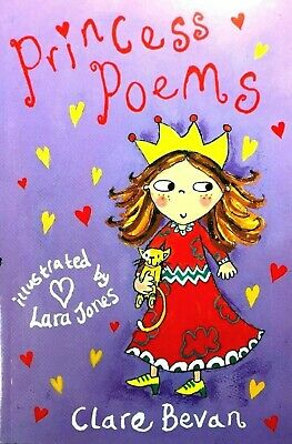 Princess Poems | Clare Bevan | Children's Book | For Girls | New