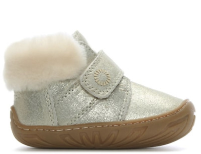 Toddler Girls Genuine UGG Australia Boots - Jorgen Sizes UK Baby 4 & 6 BNIB Gift
