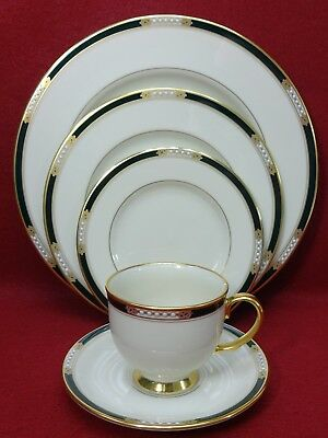 LENOX china HANCOCK china 5-piece PLACE SETTING cup saucer dinner salad bread