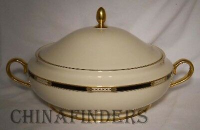 LENOX china HANCOCK china patterrn Round Covered Vegetable Serving Bowl & Lid