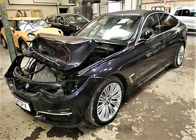 2014 BMW 335 3.0TD 4X4 SportAutox Drive Lux GT DAMAGED REPAIRABLE SALVAGE DRIVES