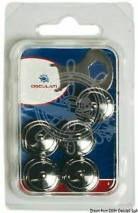 Pack of 5 SS Female German Snap Fasteners for Oversized Hood Head LOXX