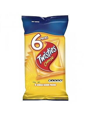 Twisties Cheese 6 Pack 114g