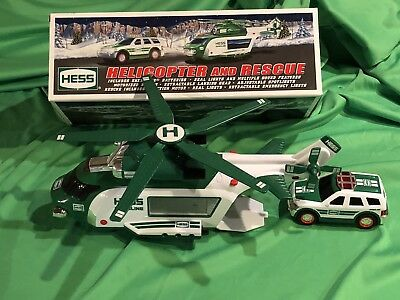 2012 Hess Helicopter and Rescue with Box
