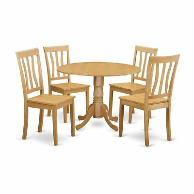 5  Pc  Dinette  set  -  Dinette  Table  and  4  Kitchen  Chairs