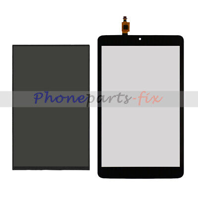 "LCD Display + Touch Screen Digitizer For T-Mobile Alcatel A30 8"" Tablet 9024W"