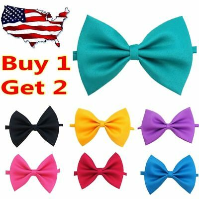 Dress Elegant Bowknot Dog Puppy Cat Necktie Bow Tie For Small Dog Pet Clothes