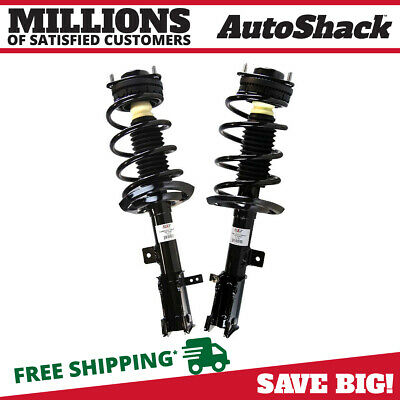 Front Pair (2) Complete Struts Assembly w/coil springs Fits 08-14 Dodge Avenger