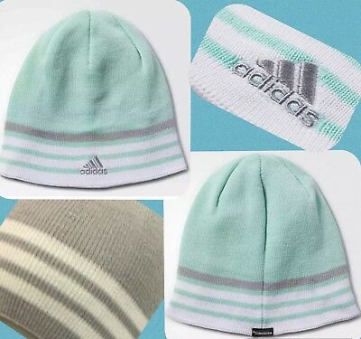 NEW ADIDAS Beanie HAT Men Women Youth Unisex Reversible Climawarm Eclipse 51f4884d12f7