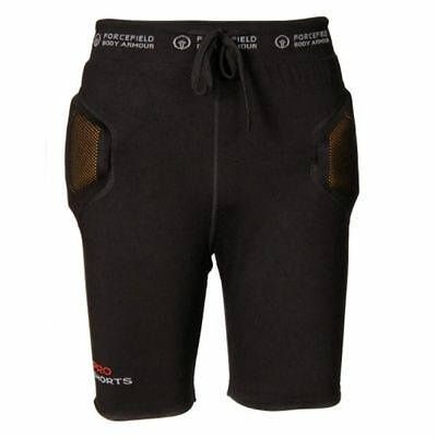 Forcefield Motorcycle Motorbike Pro Armoured Shorts Level 2 Black