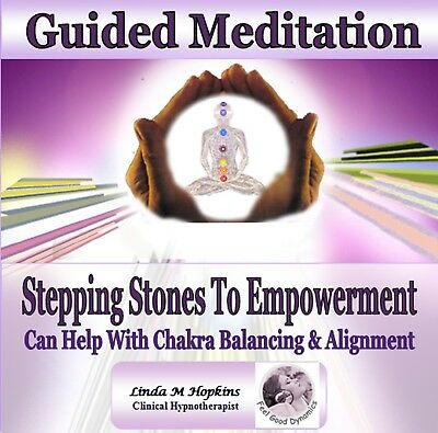 Stepping  Stones To Empowerment -  Guided Meditation Cd