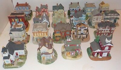 miniture town houses collection of 21  International Resources, 2000 -