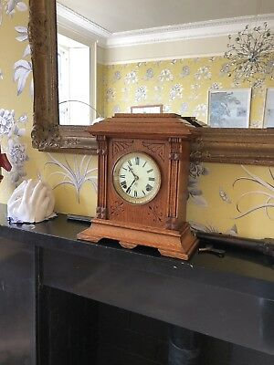 Antique Chiming Mantel Clock