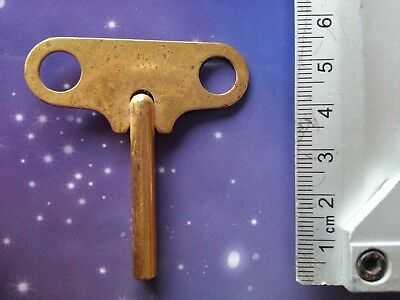 Size 3 Antique Vintage Clock Winding Key Mantle Grandfather Retro Steampunk