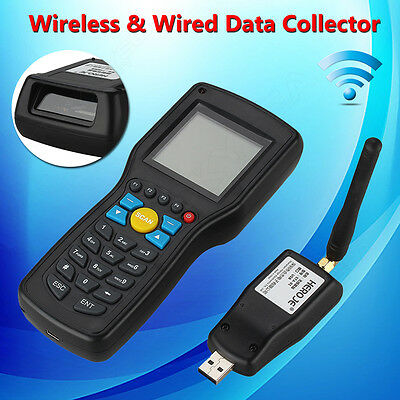 T5 433MHz Wireless Laser Barcode Scanner Data Collector 512MB Inventory Terminal